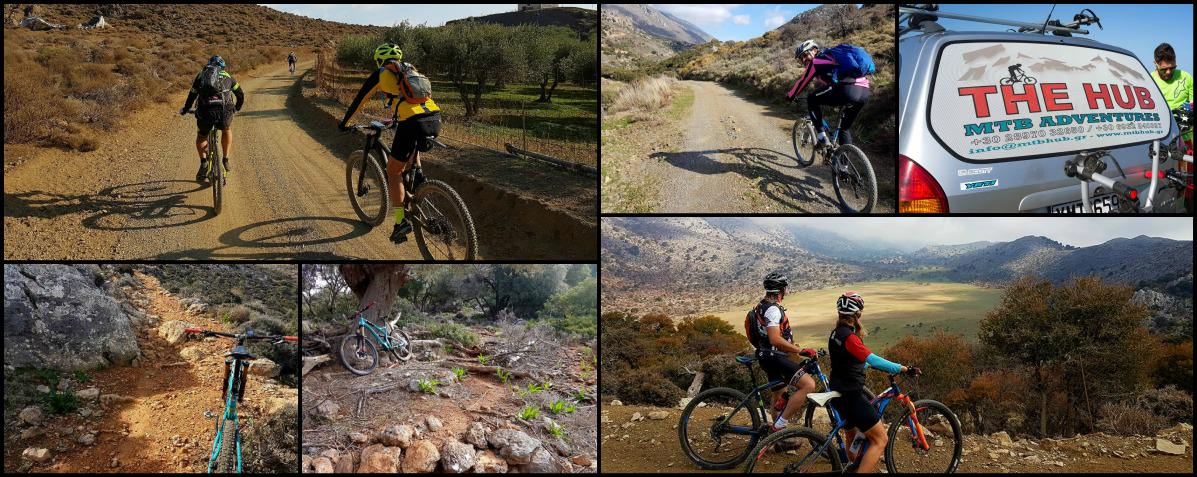 Group Photos of our MTB Tours  Crete