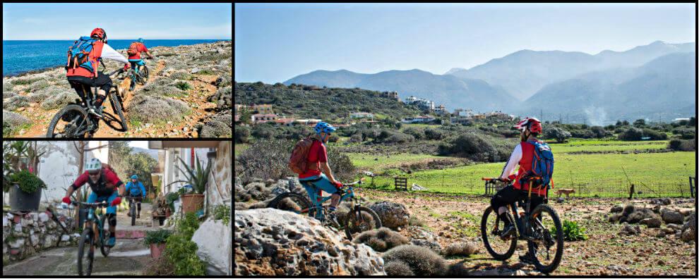 Group Photos of our MTB Tours  Crete photo 2